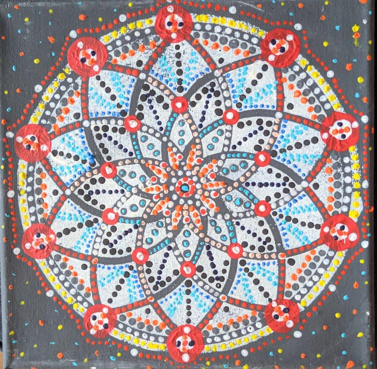 Dot painting mandala kurz